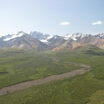 While Denali is the crown, the rest of the Alaska Range is not too shaby.