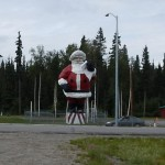 Our RV Park is in North Pole, just south of Fairbanks.