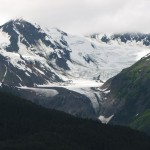Close up of this glacier, one of many