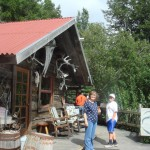 Museum/gift shop at the Indian Mine.