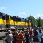 A popular tourist spot with good access from Anchorage on the train.
