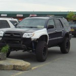 4Runner with a lift in Anchorage.