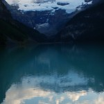 Nice reflections off Lake Louise.