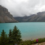 This lake was incredibly blue and shiny on our last trip.
