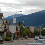 Jasper town is very cute, but also very touristy.