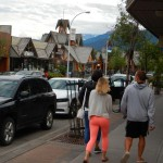 "While taking a picture of the quaint architecture in Jasper, some things just shout out ""LOOK AT ME!!"""