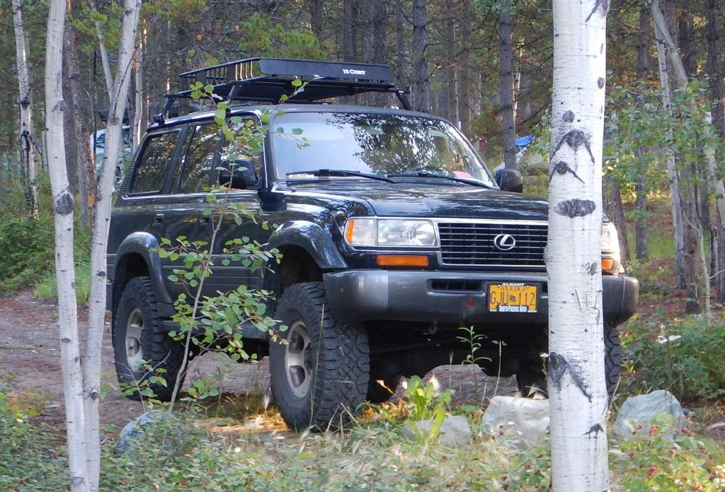 "Here is the only Lexus 450 or FJ80 I have seen. Alaska plates, and 35"" tires is my guess."
