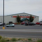 We stopped for gas in ID at a truck stop, and across the road was this warehouse store.