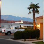 This proves you can see the temple from Temple View RV park in St. George UT.