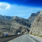 Going through the Virgin River Canyon is always pretty.